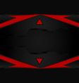 black and red stripesabstract background with vector image
