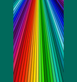 brightly colored abstract background spectrum vector image vector image