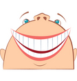 face laughing vector image vector image