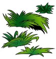 Grass Set vector image vector image