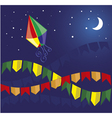 party in june brazil vector image vector image
