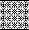 tile black and white pattern for wallpaper vector image vector image