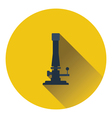 Icon of chemistry burner vector image vector image