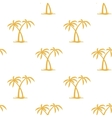 Pattern with palms vector image vector image