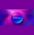 purple liquid color background design futuristic vector image vector image