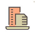 real estate agent icon design on white vector image