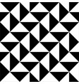 triangle pattern seamless geometric background vector image vector image
