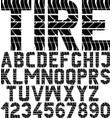tyre vector image vector image
