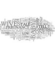wivestaleswps text word cloud concept vector image vector image