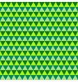 Abstract green geometric seamless pattern vector image