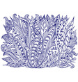 Abstract Ink Doodle Design vector image vector image