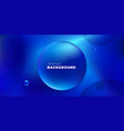 blue liquid color background design futuristic vector image vector image
