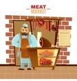 Butcher Cartoon vector image vector image