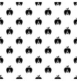 candle apple pattern seamless vector image vector image