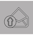 email settings design vector image vector image