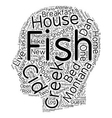 Fish Creek House Bed and Breakfast A ChildHood vector image vector image