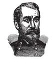 general philip henry sheridan vintage vector image vector image