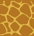 giraffe skin animal texture wallpaper vector image vector image