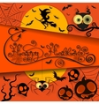 Happy halloween holiday vector image