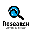 Research Design vector image