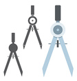 Divider Different Icons vector image