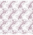 beautiful flower background design vector image vector image