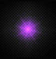 purple glowing light glitter vector image vector image