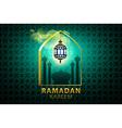 ramadan kareem Islamic design banner background vector image vector image