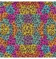 Animal print background design vector image