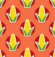 corn pattern Seamless texture vector image vector image