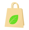 Eco package icon cartoon style vector image vector image