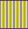 folklore geometric seamless pattern pixel art vector image vector image