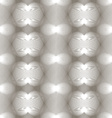 Grayscale symmetric seamless pattern with vector image