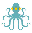 octopus icon isolated vector image