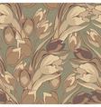Original seamless wallpaper vector image vector image