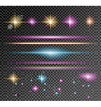 sparkle collection with a lot of different shapes vector image