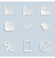 Business Paper Icons Set Vol 2 vector image vector image