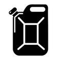 canister icon simple black style vector image vector image
