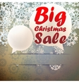 Christmas Big sale template vector image