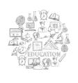 Education Concept Sketch vector image vector image