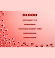 erythrocytes vector image vector image