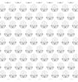 Floral design garden white vector image vector image
