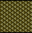 golden pyramid geometric seamless pattern vector image vector image