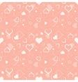 Hearts Texture vector image vector image