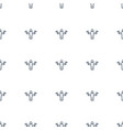 man with flags icon pattern seamless white vector image vector image