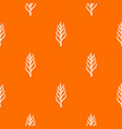 one spica pattern seamless vector image vector image