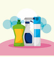 spring cleaning concept vector image