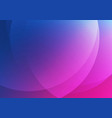 abstract blue and pink gradient circle shape vector image vector image