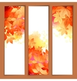 Autumn Watercolor Headers vector image vector image