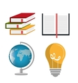 Education and knowledge vector image vector image